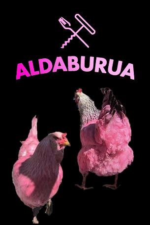 Soirée en rose avec deux cocottes chanteuses à Aldaburua