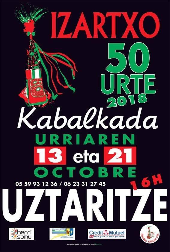 Aldaburua fête la Kabalkada 2018