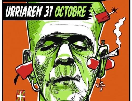 Soirée Halloween à Aldaburua 👹