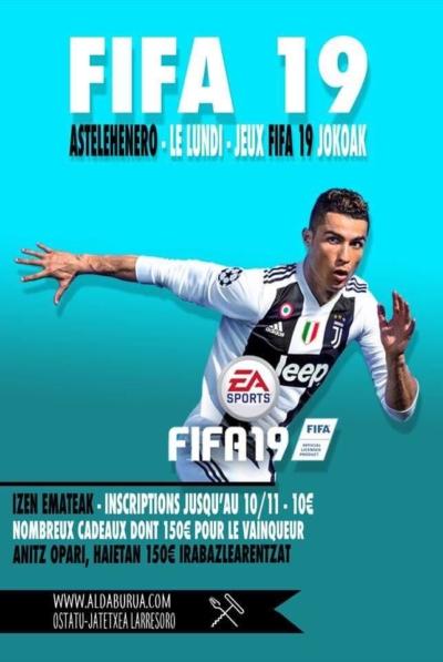 Dernière semaine inscription au tournoi FIFA19