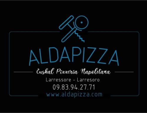 Lancement de AldaPizza ! La pizza à emporter d'Aldaburua 🍕