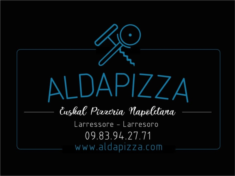 AldaPizza - La pizza à emporter par Aldaburua