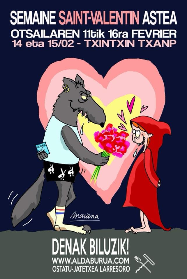 Semaine Saint Valentin à aldaburua